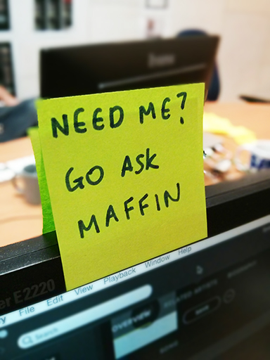 Ben Maffin - go ask maffin
