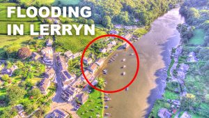 Flooding in Cornwall - Lerryn