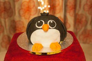 lakeland penguin cake