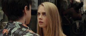 Cara Delevingne Mid Eye-Roll Valerian and the City of a Thousand Planets