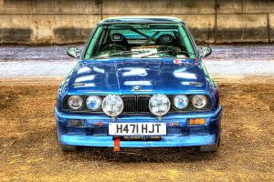 1990 BMW 316 at the PK Memorial Rally