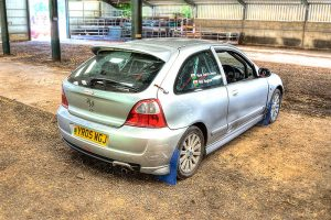 MG ZR PK Rally Car