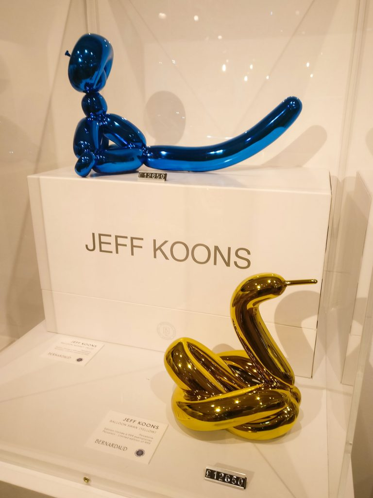 Jeff Koons Artwork for Sale