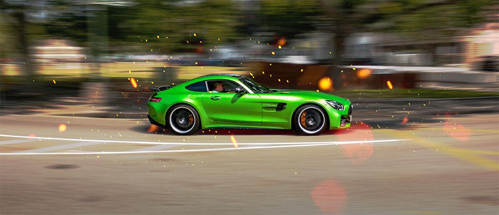 Mercedes Benz AMG GT-R Jersey