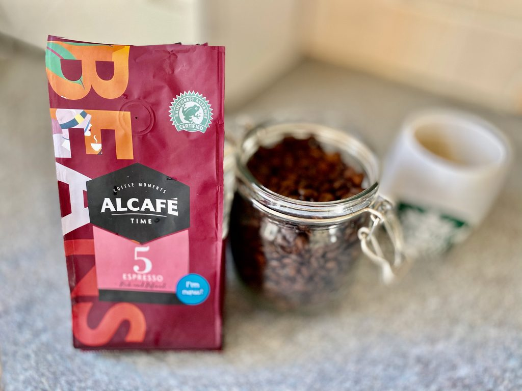 Aldi Coffee Moments Whole Bean Alcafe