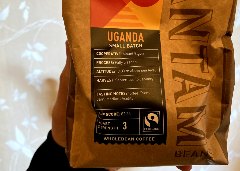 Bantam Beans Ugandan Coffee Sainsburys