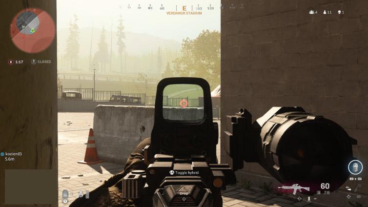 Modern Warfare - Final Circle