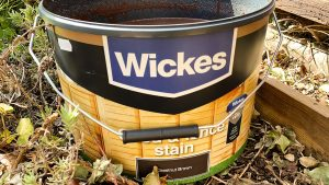 wickes chestnut brown fence paint