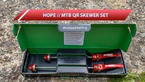 Hope Steel Rod MTB Quick Release Skewer Set