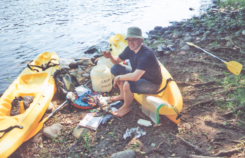Canoes Safaraid Dordogne - Sort out your pod early on
