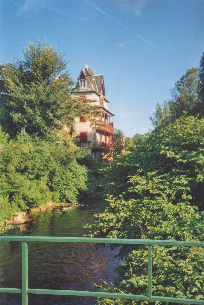 Côté Dordogne from the bridge