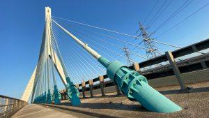 Flintshire Bridge Example of a Cable Stayed Bridge