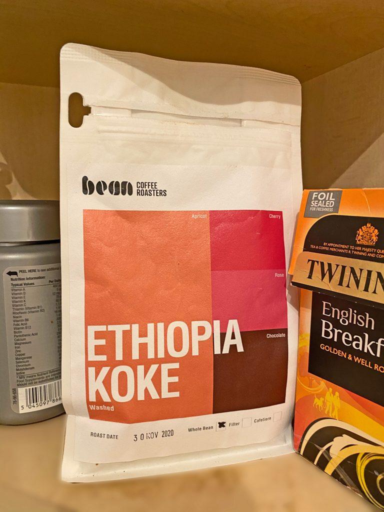 Ethiopian Koke Coffee Beans