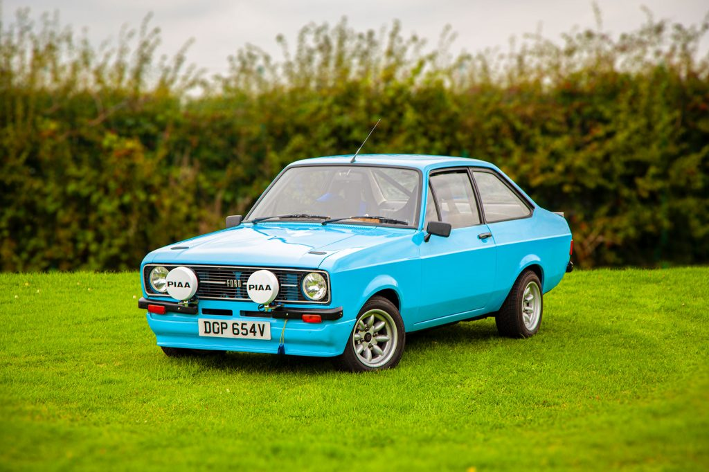 Ford Escort Mkii Rally Car on its day off